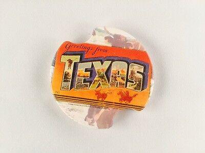 Greetings from Texas - Single Carster Car Coaster  Carster Car Coaster