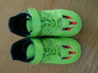 2 pairs of children's football trainers sizes 8.5 and 9