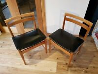**£15** Art Deco Birch Chairs (2 Available)