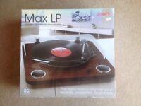 Ion Max LP Dark Wood USB Conversion Turntable