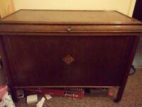 Wooden toy chest/storage box