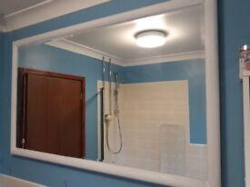 huge heated mirror 1500mm x 900mm