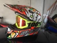 Motocross Helmet + Goggles SUOMY