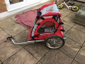 Children's bike trailer