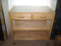 Freestanding Kitchen 'Island' Unit £50 - Shabby Chic Project/Workshop Bench?