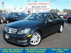 2013 Mercedes-Benz C-Class C300 4matic Navigation/Sunroof/BlindS