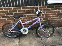 Girl's mountain bike, Raleigh