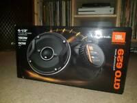 JBL GTO 629 Coaxial Speakers
