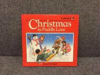 Vintage Christmas in Puddle Lane Ladybird Square large book Retro rare 1987 First Edition SDHC