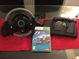 Madcatz MC2 Racing Wheel & Pedals - Offers Please