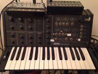 Korg set (MS-10, SQ-1, Volca Bass)