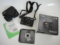 CANON G1X DIGITAL CAMERA BOXED AS NEW UNWANTED PRESENT