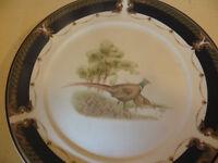 Vintage Side plate Pheasants in Wood. Keltcraft - Noritake Decorative Plate Display Wild Fowl