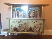 Oriental inspired cabinet/Tv stand