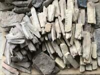 Rustic stone cladding