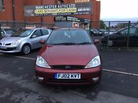 Ford Focus 1.6 i 16v Zetec 5dr,automatic, WARRANTED MILEAGE, 2 KEYS,