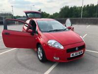 2007 FIAT GRANDE PUNTO 1.4 ACTIVE SPORT DRIVES GREAT IDEAL FIRST CAR LOW MILES !!!!