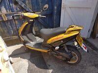 Yellow Moped