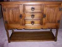 Small Oak Sideboard - chabby Chic Project?