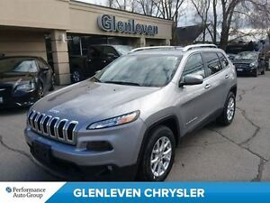 2016 Jeep Cherokee DEMO, V6. NORTH, 4X4, CAMERA, COLD WEATHER GR