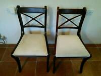 Dining Room Chair's 2 off