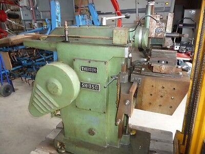 Stossmaschine mit Schraubstock Hobelmaschine Metall Theisen Erdmann