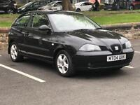 2004 SEAT IBIZA SX* ALLOYS * 3 DOOR * MOT * SERVICE HISTORY - 13 STAMPS * PX * DELIVERY
