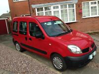 Renault Kangoo DIESEL MPV 2006 1.5 dci Authentique, 5 Seats MOT 81,000 miles, Serviced, good runner
