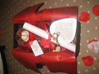 Valentine's Day Teddy Gift Box for the Man or Woman in your Life!