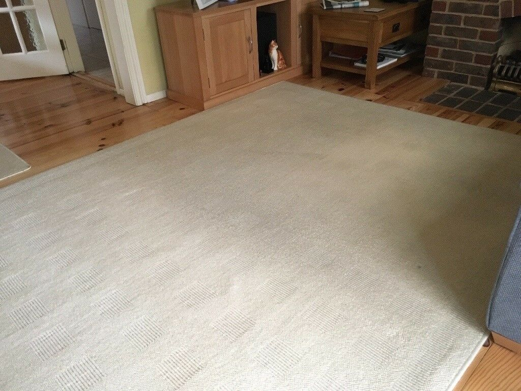2 3m x 2m Ivory coloured rugs | in