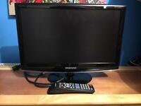 "Samsung 19"" flat screen television"