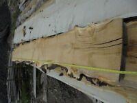 PIPPY OAK HARDWOOD TIMBER SLAB/SLICE KITCHEN HOME FURNITURE SHELF BAR GARDEN OFFICE CRAFT