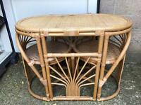 Table and 2 chairs FREE DELIVERY PLYMOUTH AREA
