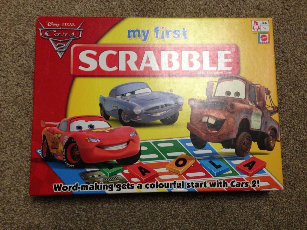 My first scrabble board game