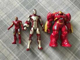Iron man figures