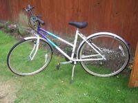 Ladies Raleigh Pioneer Prestige Bicycle.