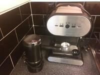 Cook works Coffee Machine with coffee grinder £20