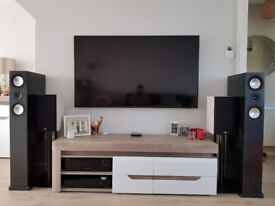 Canton Karat M90 DC, Loudspeakers, High End, Floor Standing, Graphite, Bi-Wiring