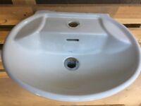 White Bathroom Sink - Good condition