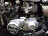 1980 KZ1000 COMPLETE ENGINE - 30000 MILES - RUNNING WELL - NUMBER PRESENT - CARBS & AIRBOX AVAILABLE