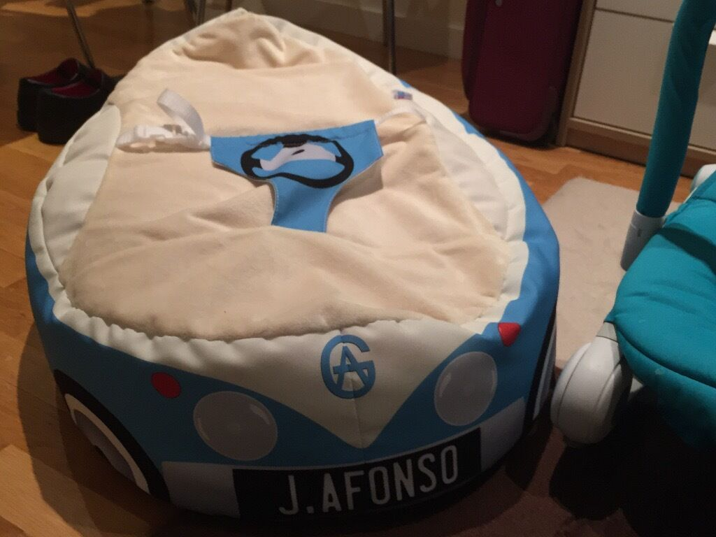 Groovy Luxury Cuddle Soft Iconic Campervan Gaga Baby Bean Bags Gamerscity Chair Design For Home Gamerscityorg