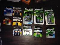 KELOWNA New Unopened Batteries and Battery Chargers