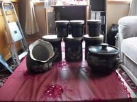 Various Denby Pottery Items