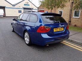 2006 BMW 320D M SPORT AUTOMATIC, FULLY LOADED, 157K FULL SERVICE.. DRIVES MINT, LEATHERS, SUNROOF,