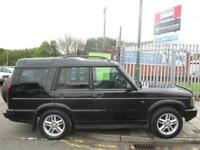 LAND ROVER DISCOVERY 2.5 Td5 Landmark 7 seat 5dr (black) 2003