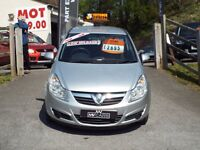1.2 Vauxhall Corsa. only 49k. Free 6 month warranty included.