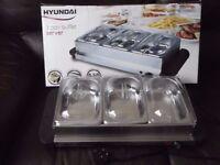 Hyundai 3 pan buffet server