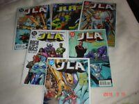 DC COMICS JLA ISSUES 7-8-9-10-11-12