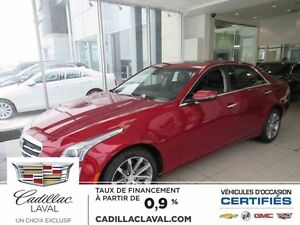 2016 CADILLAC CTS SEDAN AWD LUXURY