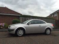 Renault Megane Convertible 65,000 miles Tyne and Wear